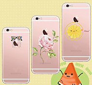 MAYCARI®Lively World Soft Transparent TPU Back Case for iPhone 6/iphone 6S(Assorted Colos)