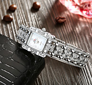 SOXY® Wholesale Precise Business Steel Link Strape White Plate Watch Elegant Quartz Watch for Women