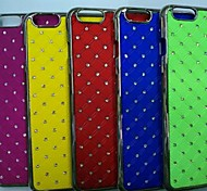 Circle Pattern Plating PC Mobile Phone Shell For IPhone 6/6s (Assorted Colors)