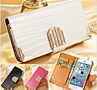 кристалл сверкающих бриллиантов ящерица полный кейс корпус для iphone 5с