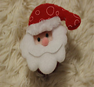 tridimensional aplaudido Santa boneco de neve festival natal círculo pat pulseira