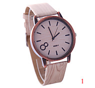 Ladies' Watch Geneva vintage wood personality style watches