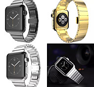 HOCO Stainless Steel Strap Butterfly Buckle Bands for Apple Watch iWatch