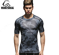 Vansydical Men's Quick Dry Fitness Tops - JSY-2015004