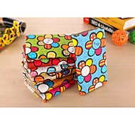 PU Cartoon Holder Pattern Mobile phone Case for iPad 4/3/2 Assorted Color
