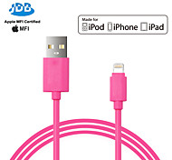 MFI Certified USB Data Cable Sync Charger Cable for iPhone 5 5S 6 6Plus iPad 1M PPID146643-0073