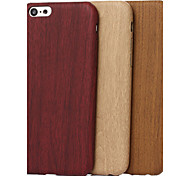 For iPhone 5 Case Pattern Case Back Cover Case Wood Grain Soft TPUiPhone 7 Plus / iPhone 7 / iPhone 6s Plus/6 Plus / iPhone 6s/6 / iPhone