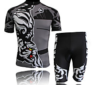 KEIYUEM® Unisex Short Sleeve BikeWaterproof / Breathable / Quick Dry / Windproof / Insulated / Rain-Proof / Dust Proof / Compression /