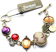 Fashion Jewelry Retro Popular Crystal Bracelet