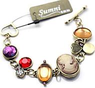 Fashion Jewelry Retro Popular Crystal Bracelet
