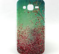 Para Funda Samsung Galaxy Diseños Funda Cubierta Trasera Funda Flor TPU Samsung J5