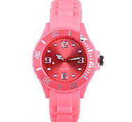 Are Lucky Red Silicone Ladies Watch