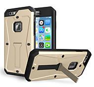 dirtproof antichoc étanche snowproof TPU + protection en plastique de couverture de cas pour Apple iPhone 6 (de couleurs assorties)