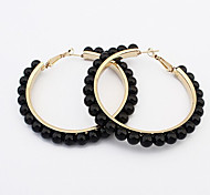 New Arrival Fashional Pearl Loop Earrings