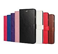 Crazy Horse зерна и окна роскошь PU кожаный бумажник чехол с подставкой для iphone 6 плюс / 6с плюс (ассорти цветов)