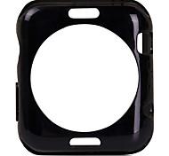 модно ТПУ мягкий чехол задняя крышка и закаленное стекло экрана протектор для iwatch 38mm / 42mm