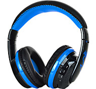 bluetooth hoofdtelefoon voice headset w / microfoon fm / sd-kaart headset voor pc laptop telefoon mp3 dropship