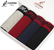 L'ALPINA® Men's Cotton Boxer Briefs 4/box - 21126