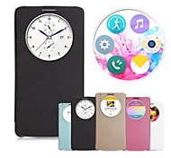 Fashion Quick Circle Window Smart Leather Flip Case Cover for LG G3 D850 D851 D855 F460 Anne(Assorted Colors)