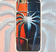 Spider Pattern Black Gold Plated High-Grade TPU Phone Case for iPhone 6/6S
