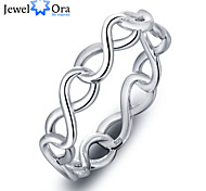 Fashion Party 8 Shape Accessories 925-Sterling-Silver Rings For Women &Lady