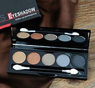 1Pcs Exquisite Colored Eye Shadow Pearl Wet Powder Eye Shadow Smokey-Eye Make-Up Earth Color Eyeshadow
