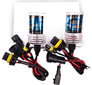 2PCS HID Xenon 9005-4300K-55W for Car