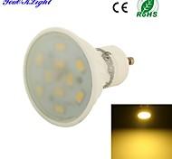 YouOKLight® 1PCS GU10 5W 10*SMD5730 Warm White Light Long life Ceramic Spot LED Lights (AC110-120V/220-240V)