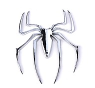 ZIQIAO Car Chrome Emblem Badge Sticker - Spider