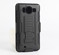 For Nokia Case Shockproof / with Stand Case Back Cover Case Armor Hard PC Nokia Nokia Lumia 950