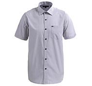 JamesEarl Men's Shirt Collar Short Sleeve Shirt & Blouse Purple - DA172029626