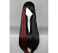 Lolita Wigs Sweet Lolita Lolita Long Black Lolita Wig 70 CM Cosplay Wigs Patchwork Wig For Women