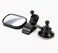 Iztoss Mini Car Baby View Mirror 2 IN 1 / Car Rear Baby Safety Convex Mirror for Car Adjustable Baby Mirror