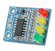 12V 4 LED Battery Indicator Board - Deep Blue