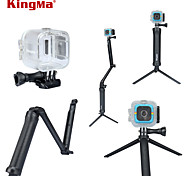 KingMa® Waterproof Case and 3-way Extendable Hand Grip with Adjustable Arm and Detachable Tripod for Polaroid Cube