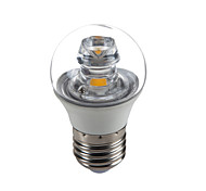 E26/E27 5W 1 COB 420 LM Warm White G45 Decorative Candle Bulbs AC100-240V