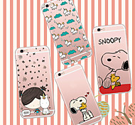MAYCARI®Childhood Memory Soft Transparent TPU Back Case for iPhone 6 Plus/6S Plus