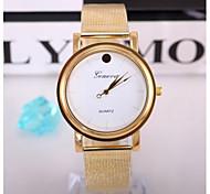 Women Gold Stainless Steel Watches Ladies Quartz Clock Fashion Women Wristwatch Relogio Feminino