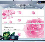 Kitchen Oil-Proof Stickers Protection , Aluminum