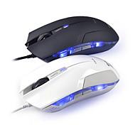 e-3lue cobra ems109bk jogo do rato de alta precisão com controle lado 1600dpi