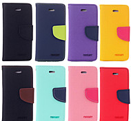 Color Stitching Design PU Case for Samsung Galaxy Note2 Note 3 Note4 Note5 Note Edge (Assorted Color)
