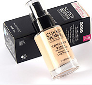 Fashion Normal Foundation Wet Liquid/Dual Water Cream/Shake Powder