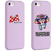 iFashion® Arale Pattern TPU Soft Back Cover for iPhone 5/5S