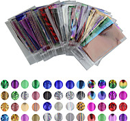 50 Colour 35cm*4cm Mix Color Transfer Foil Nail Art Star Decal Care DIY  Nail Art