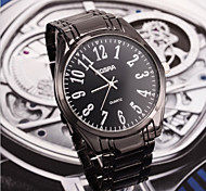 homens da moda nova rosra moda aço inoxidável relógio de pulso de quartzo relogio de pulso de quartzo masculino relojes relógio masculino
