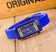 Woman Silicone Wrist  Watch