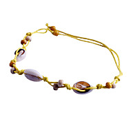 Fashion Shells Lacing Rope Bracelet
