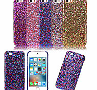 For iPhone 5 Case Ultra-thin Case Back Cover Case Glitter Shine Hard PC iPhone SE/5s/5