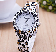 Woman Leopard Printed Wrist  Watch