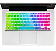 "Rainbow Keyboard Cover Silicone Skin  for Macbook  11"" Air"